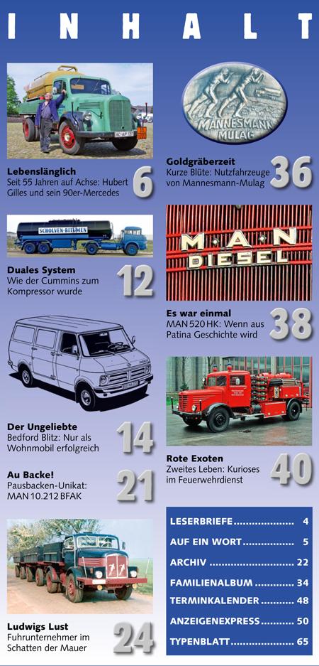 Inhalt Historischer Kraftverkehr 2016 - 2