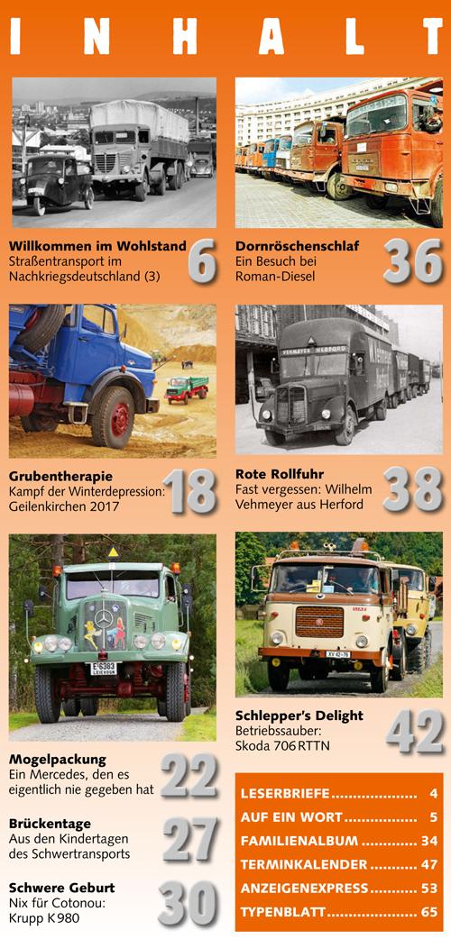 Inhalt Historischer Kraftverkehr 2017 - 3
