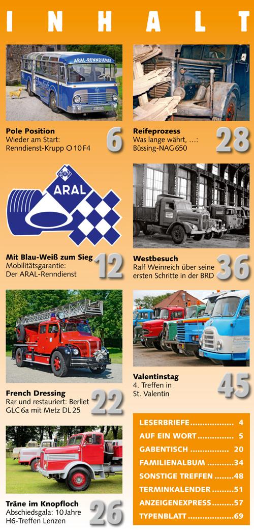 Inhalt Historischer Kraftverkehr 2017 - 6