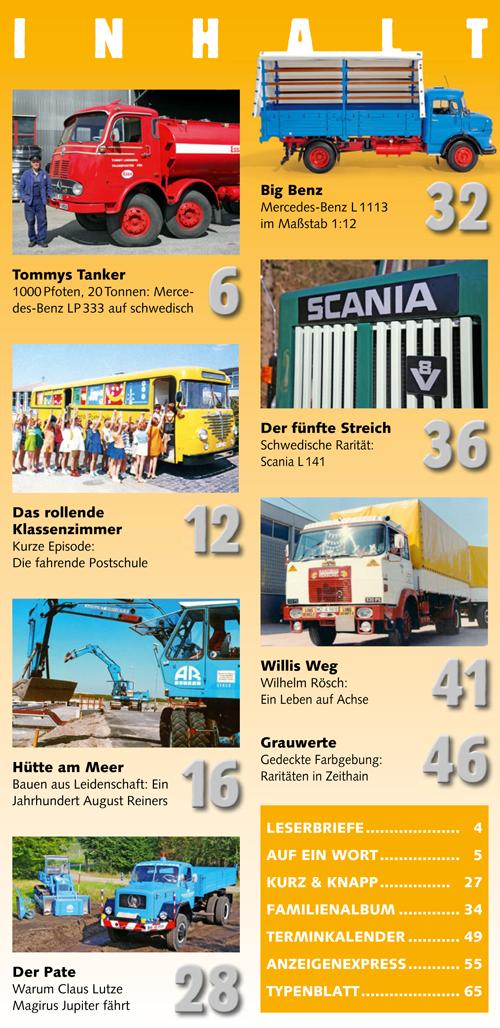 Inhalt Historischer Kraftverkehr 2018 - 2