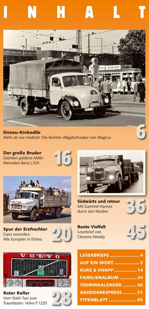 Inhalt Historischer Kraftverkehr 2019 - 2