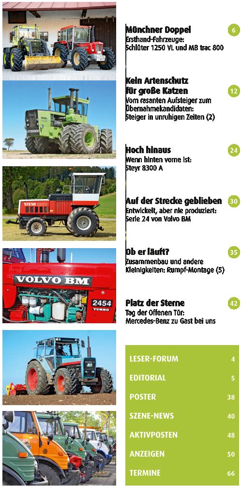 Inhalt Traktor Spezial 28