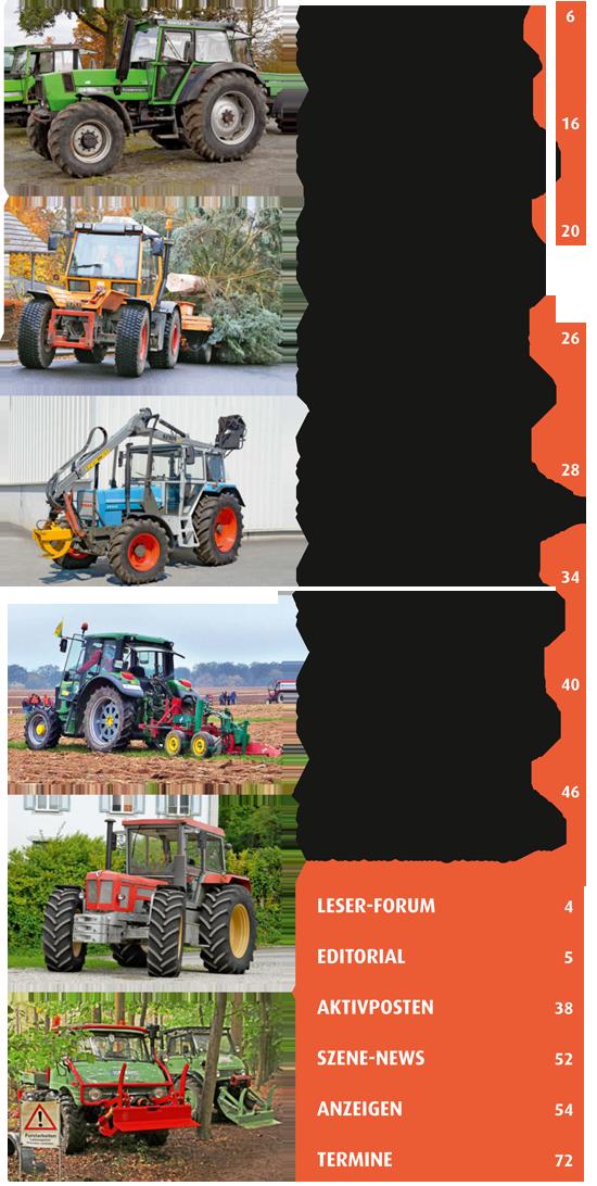 Inhalt Traktor Spezial 26