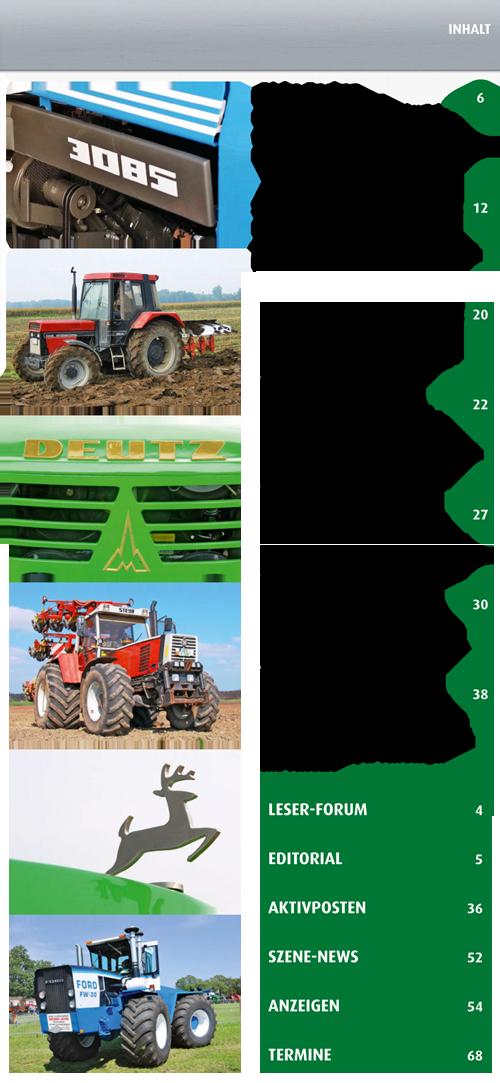 Inhalt Traktor Spezial 20