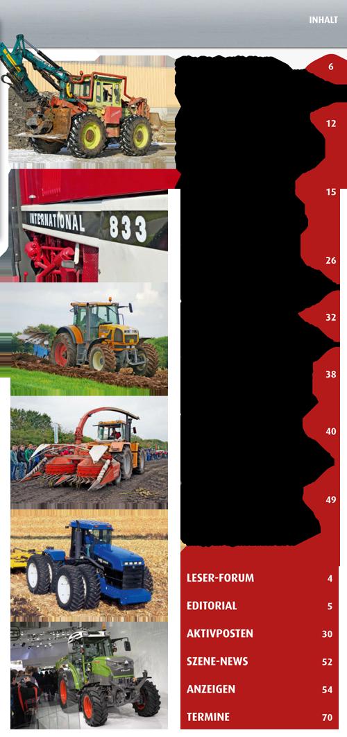 Inhalt Traktor Spezial 22