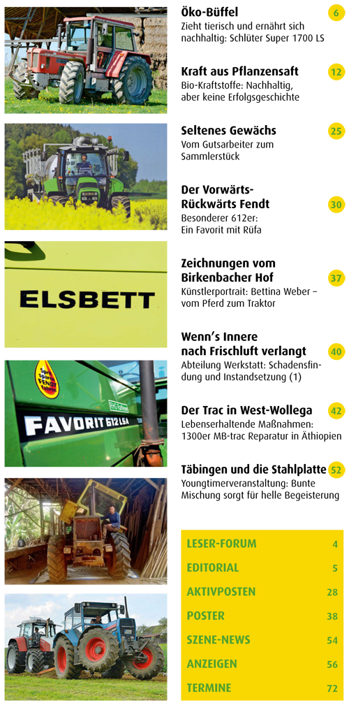 Inhalt Traktor Spezial 24