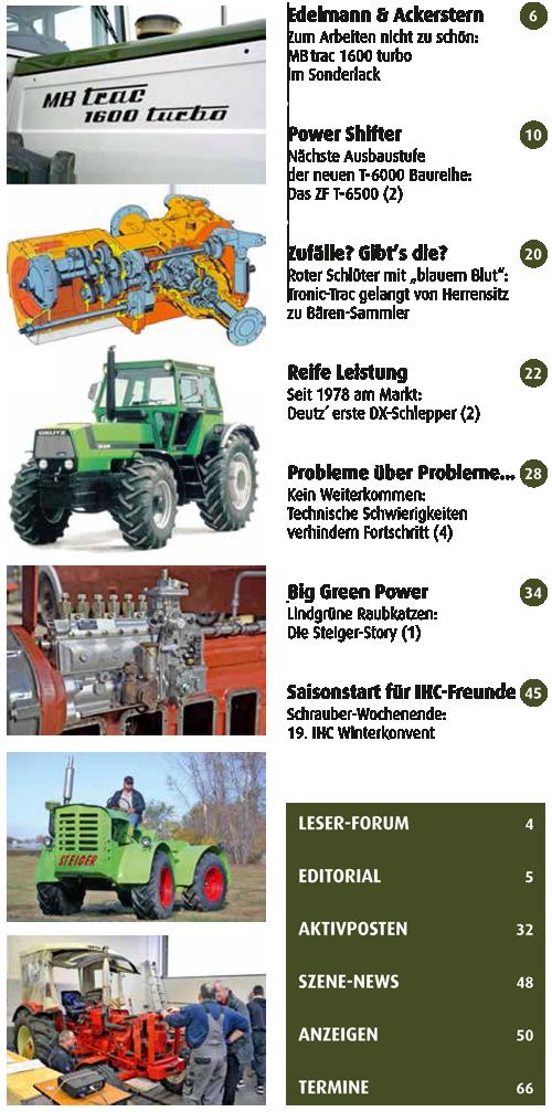 Inhalt Traktor Spezial 27