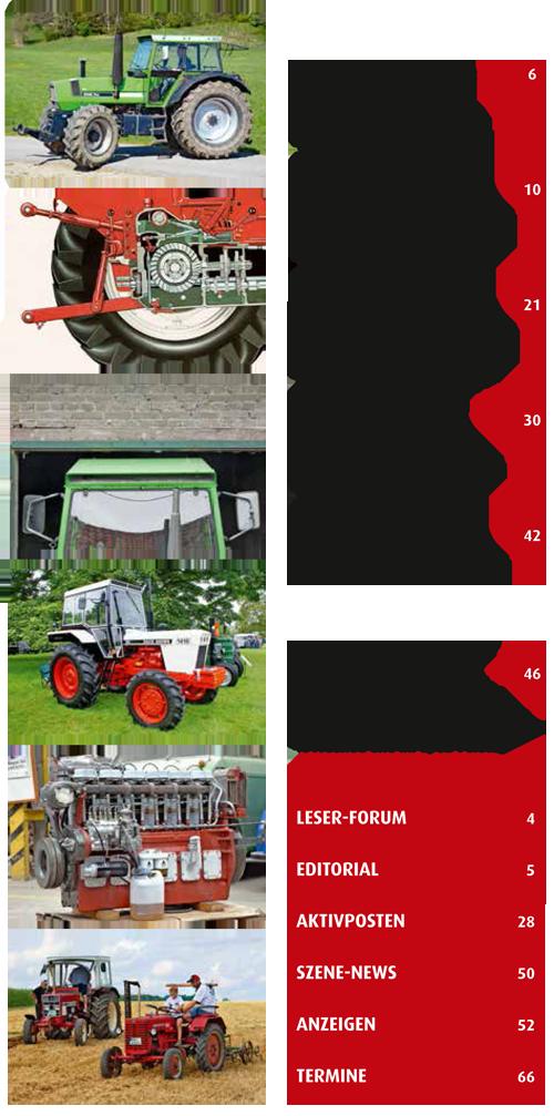 Inhalt Traktor Spezial 29