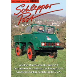 Schlepper Post 2016 - 4 *vorbestellen*