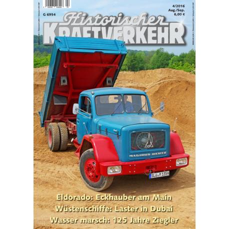Historischer Kraftverkehr 2016-4 *vorbestellen*