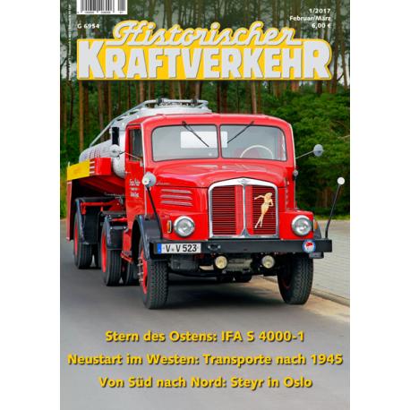 Historischer Kraftverkehr 2017 - 1