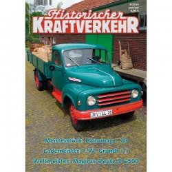 Historischer Kraftverkehr 2014 - 3