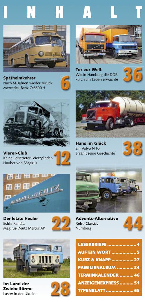 Inhalt Historischer Kraftverkehr 2020 - 1