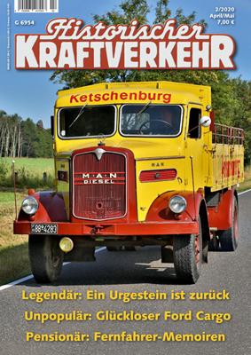 Historischer Kraftverkehr 2020 - 2