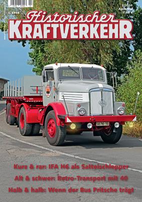 Historischer Kraftverkehr 2021 - 2