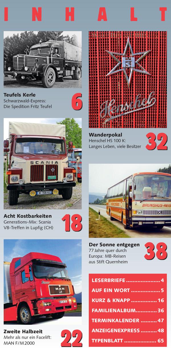 Inhalt Historischer Kraftverkehr 2021 - 4