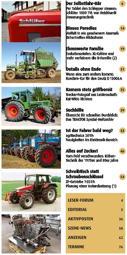 Inhalt Traktor Spezial 30