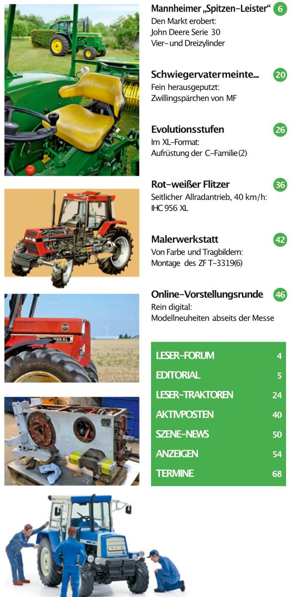 Inhalt Traktor Spezial 35