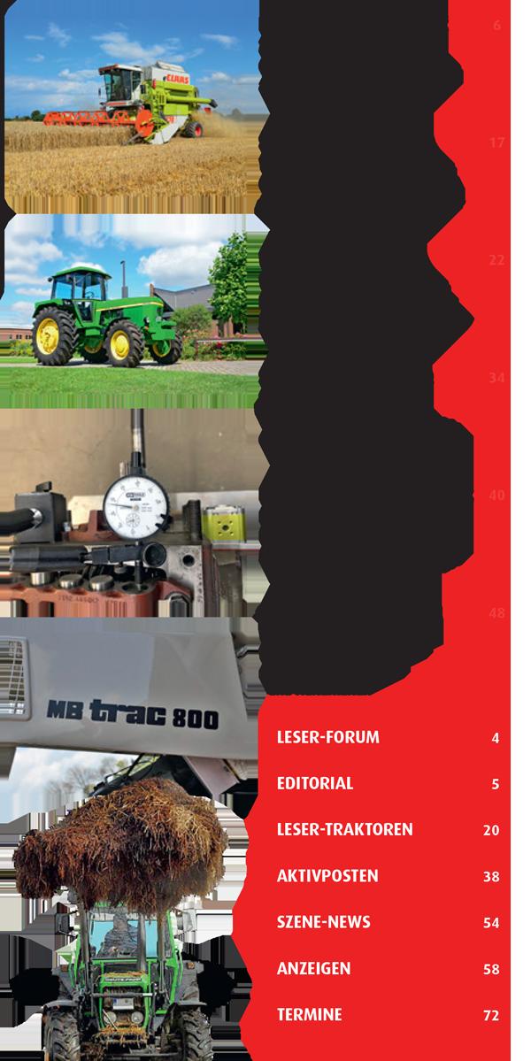Inhalt Traktor Spezial 36