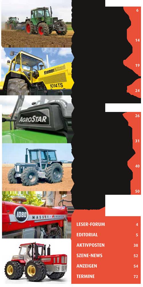 Inhalt Traktor Spezial 31