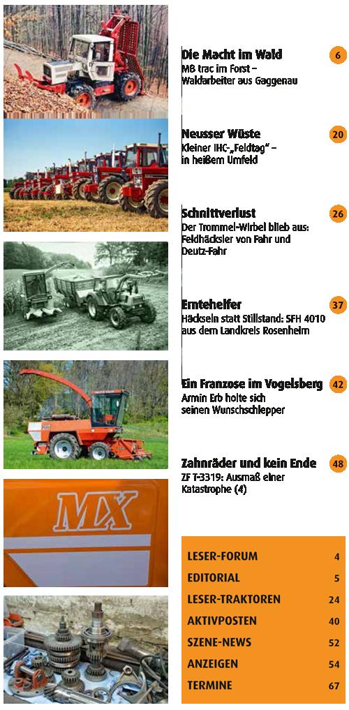 Inhalt Traktor Spezial 33