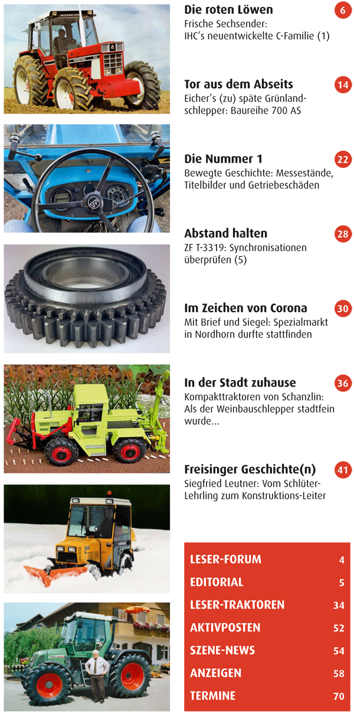 Inhalt Traktor Spezial 2021 - 1