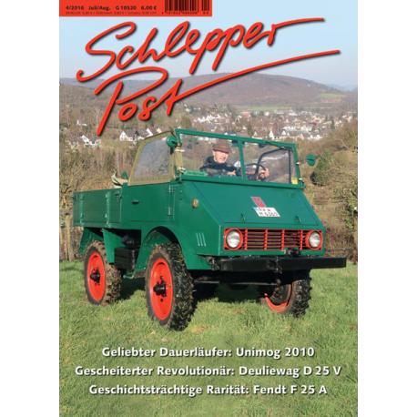 Schlepper Post 2016 - 4 *vorbestellen*