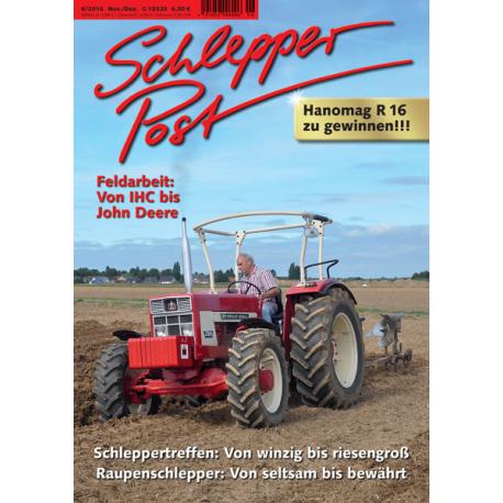 Schlepper Post 2016 - 6 *vorbestellen*