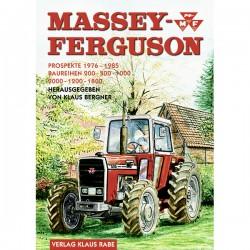 Massey Ferguson Prospekte 1976 - 1985