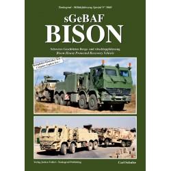 Bison, schweres geschütztes Berge- und Abschleppfahrzeug