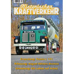 Historischer Kraftverkehr 2018 - 2