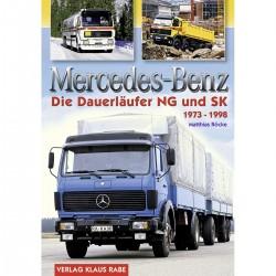 Mercedes-Benz - Die Dauerläufer NG und SK 1973 - 1998 *vorbestellen*