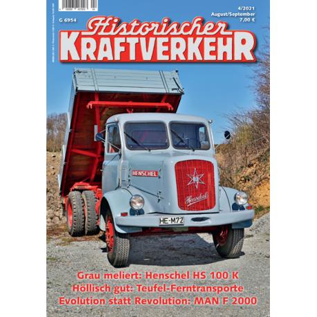 Historischer Kraftverkehr 2021 - 4