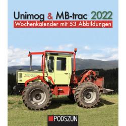 Wochenkalender Unimog & MB-trac 2022