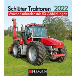 Wochenkalender Schlüter Traktoren 2022