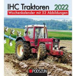 Wochenkalender IHC Traktoren 2022