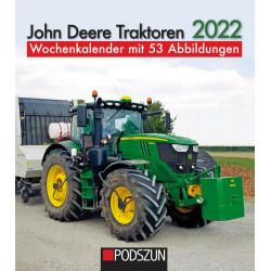 Wochenkalender John Deere Traktoren 2022