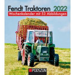 Wochenkalender Fendt Traktoren 2022