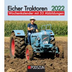 Wochenkalender Eicher Traktoren 2022