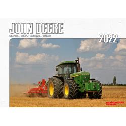 Kalender 2022 - John Deere Schlepper im Einsatz