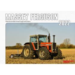 Kalender 2022 - Massey Ferguson Schlepper im Einsatz