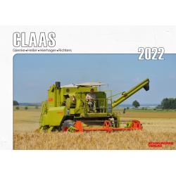 Kalender 2022 - Claas Landmaschinen im Einsatz