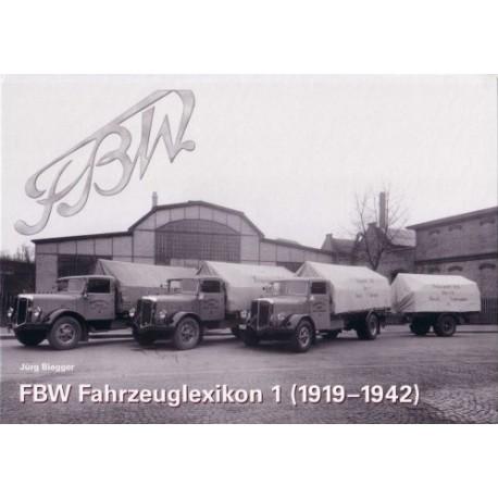 FBW Fahrzeuglexikon 1 (1919 - 1942)