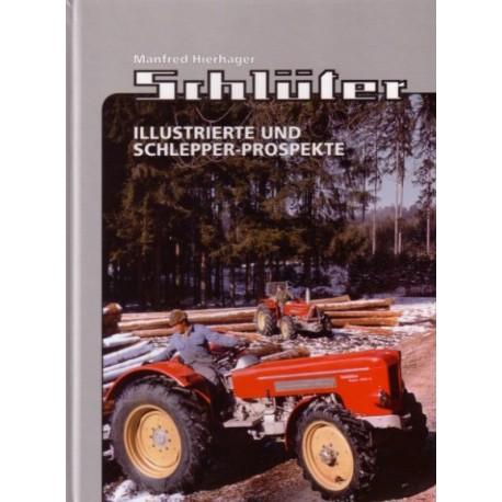 Schlüter Illustrierte und Schlepper Prospekte