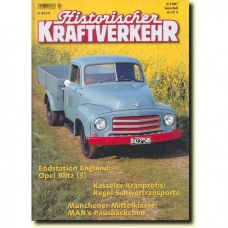 Historischer Kraftverkehr 2007 - 3