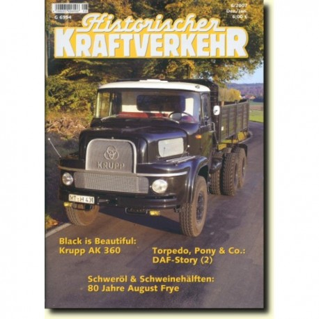 Historischer Kraftverkehr 2007 - 6