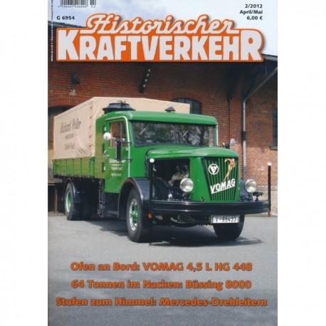 Historischer Kraftverkehr 2012 - 2