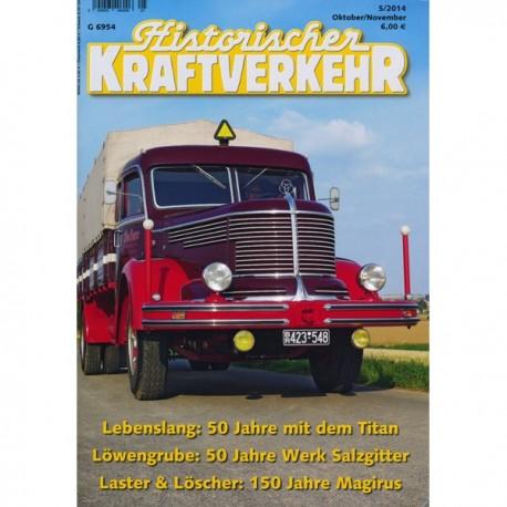 Historischer Kraftverkehr 2014 - 5