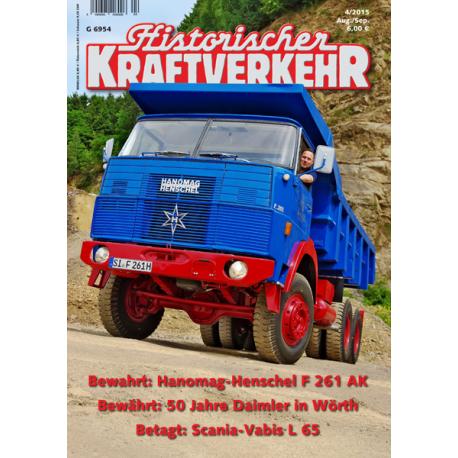 Historischer Kraftverkehr 2015 - 4